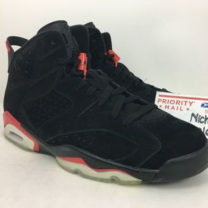 Nike Air Retro Jordan 6 Infrared Black Pack